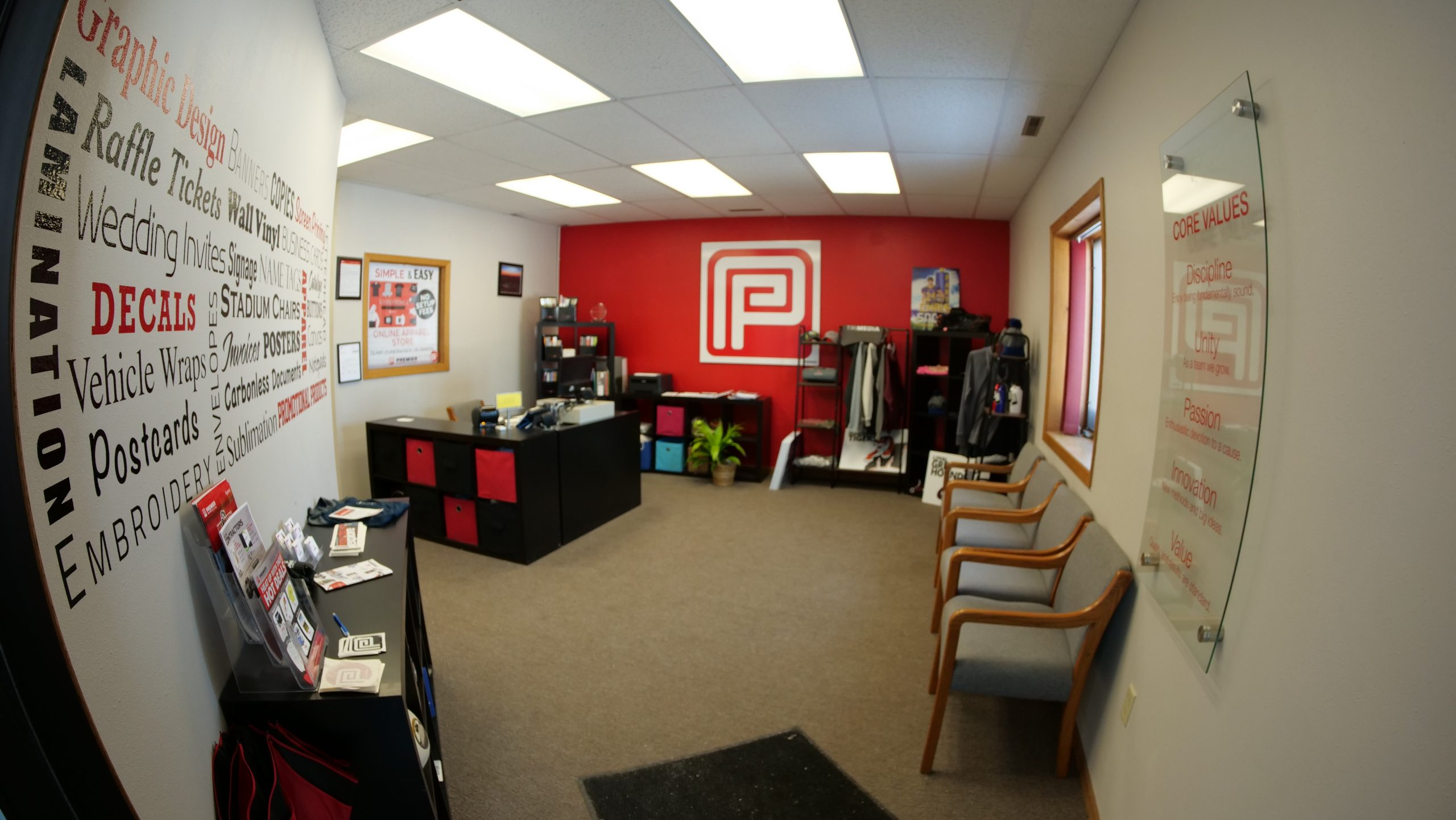 Premier Office Inside
